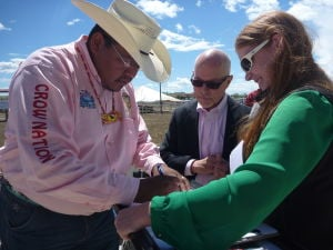 Red Cross and Crow tribe sign memorandum of understanding