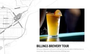 Map: Billings brewery tour