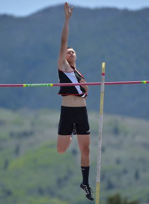 Huntley Project vaulters dominate at State B track meet