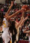 West's Makenzie Shellnutt (24) shoots