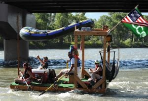 Feature photos: Boat float launches