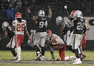 How the Raiders nearly danced away a victory