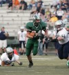 Austin Barthel of Central rushes for a touchdown