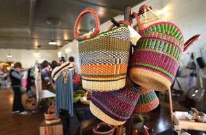 Feature photos: Fair trade market