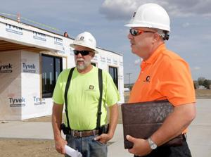Dick Anderson Construction leading South Frontage Road boom