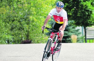 For cyclist with MS, a chance at thanks