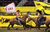 Flag carriers master horsemanship to honor CNFR sponsors