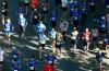Runners start the 5K