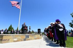 Yellowstone National Veterans Cemetery Memorial Day Ceremony