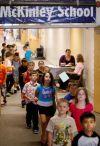 McKinley School third-graders