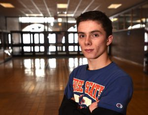 Skyview senior Timmy Garcia refocused after dealing with self-doubt, poor decisions as a freshman