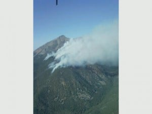 Emigrant fire remains uncontrolled, continues to grow