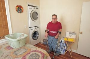 Grant-funded remodel improves man's quality of life 'exponentially'