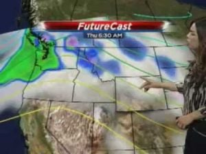 Cold and wet Wednesday, warmer weekend likely