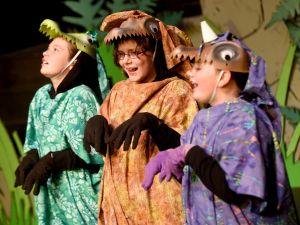 NOVA youths stage magical 'Dinosaurs Before Dark'