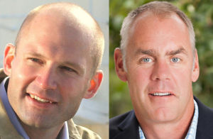 Lewis, Zinke trade charges in debate