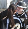 West's Haley Swan's home run