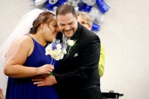 Couple overcomes addictions to reach wedding day