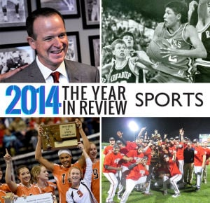 Slideshow: Top 10 sports stories of 2014