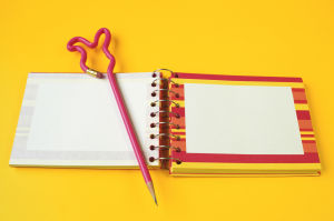 Add zing to notebooks, store-bought or DIY