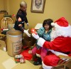 Gifts, food for everyone at St. Vincent de Paul