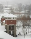 Snow at MetraPark