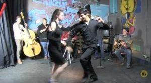 Salsa dance through the Gazette's newsroom