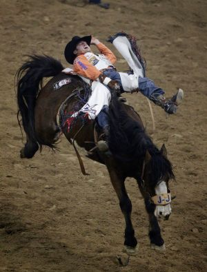 Feild closer to world title in bareback