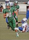 Jesse Byorth heads for the end zone