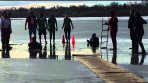 Teams take an icy dip for Special Olympics