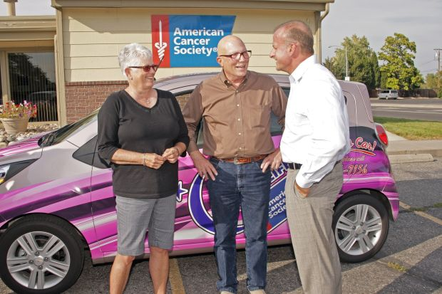 New car fitting reward for cancer survivor who co-chaired annual fundraiser