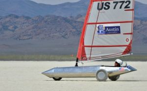 Sailors test skills, nerves on Nevada sands