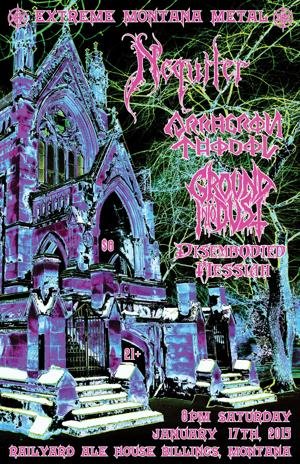 A Cold, Dead Winter Evening of Black and Death Metal