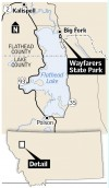 Map of Wayfarers State Park
