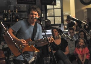 Guthrie Brown performs at Madison Bakery