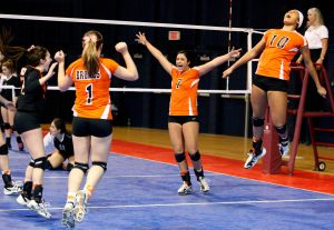 Volleyball: Repeat champions have designs on repeating again