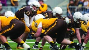 Wyoming football: O-line looks to dispel question marks