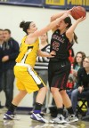Lady Jackets hang on
