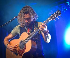 John Butler Trio tears up the Babcock with guitar pyrotechnics