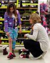 Denise Schwarzkoph shops with Myrcle Ortiz-Tallbull