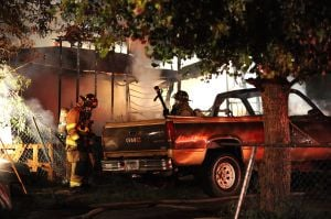 Lockwood trailer destroyed in fire early Wednesday