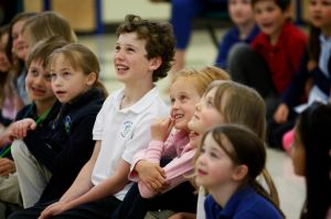 Grace Montessori students celebrate Shakespeare's 450th birthday