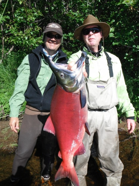 Gallery fishing for salmon outdoors for Gustafson s smoked fish