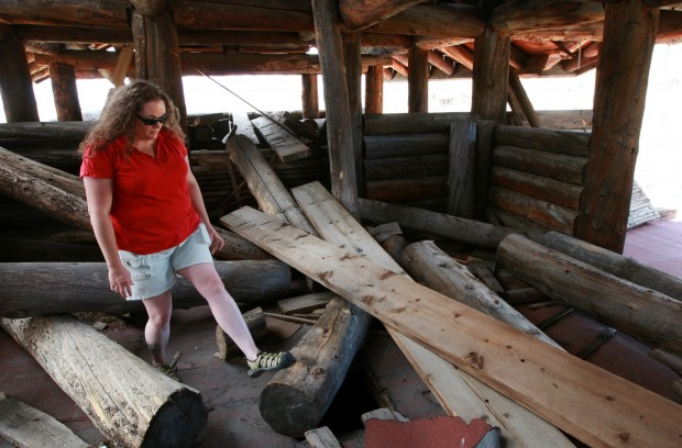 Preservation Efforts Under Way For Unusual House West Of Cody