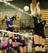 Skyview volleyball sweeps West behind Copinga's 25 kills