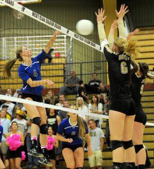 Volleyball: Billings West vs. Billings Skyview