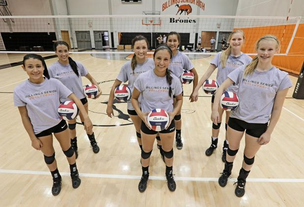 Sisters act: Senior Broncs volleyball roster features three sets of siblings