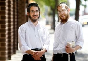 Rabbinic students travel the state to encourage fellow Jews