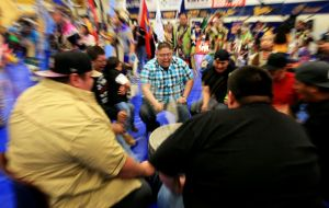 Song groups serve as powwow's heartbeat