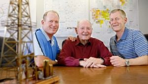 Making a great team: Working together creates close bonds for fathers, sons